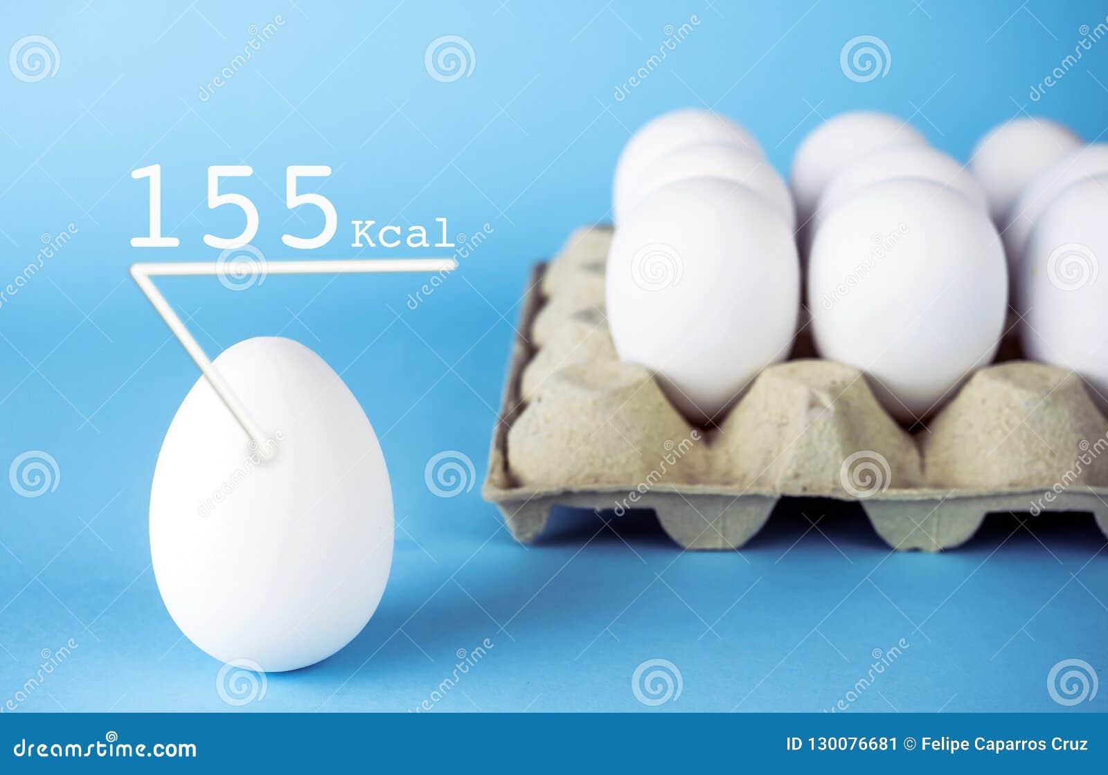 White Hen Eggs 155 K Calories Has An Egg