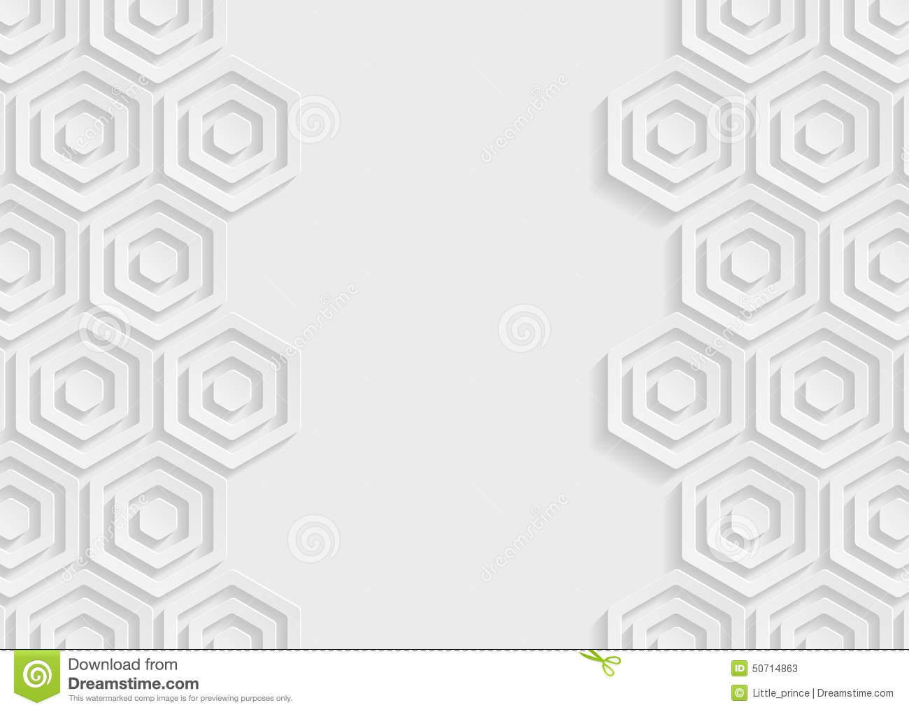 abstract hexagon background cartoon vector