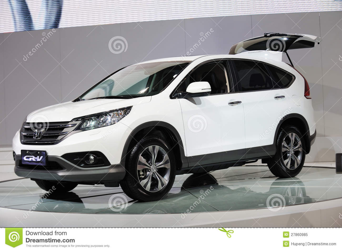 All Types crv length : White Honda CRV editorial image. Image of center, exhibitor - 27860985