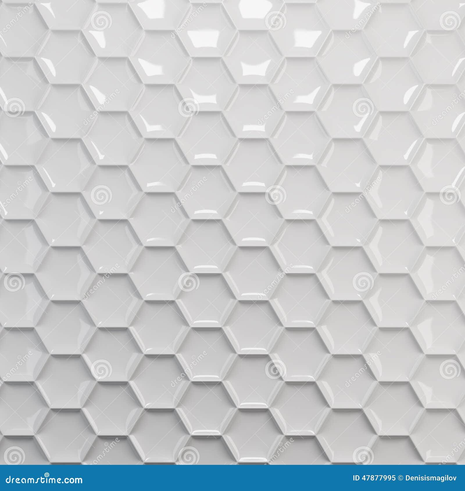 White honeycomb background stock illustration. Image of ...