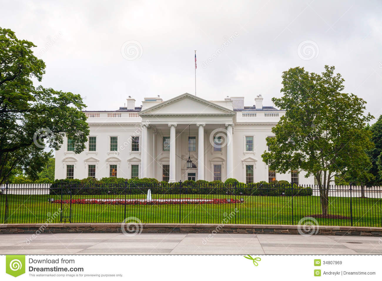 The white house building in washington dc royalty free for Building a house in washington state