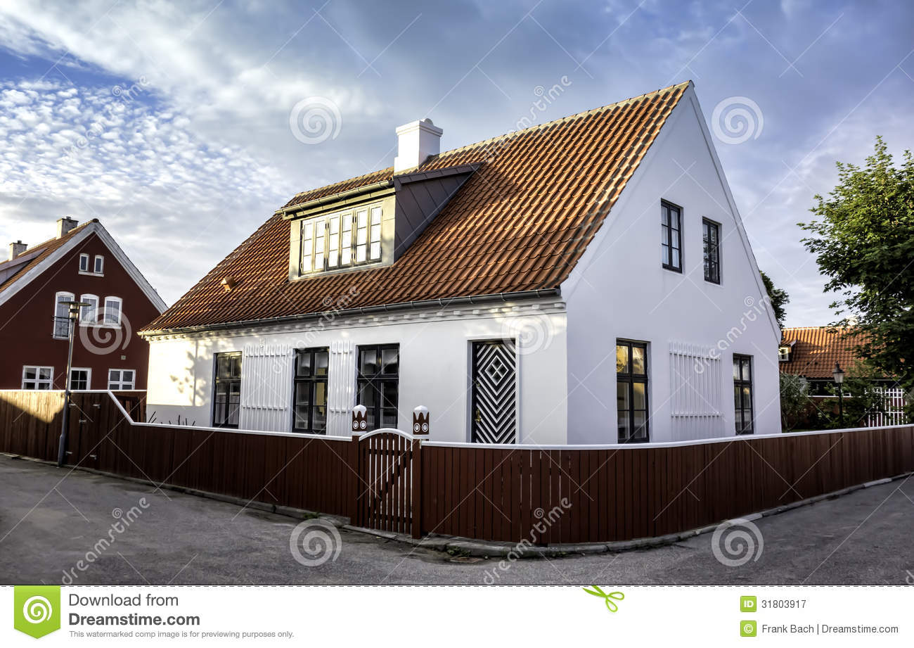 White house in the center of skagen in jutland stock image image of jutland skagen 31803917 - The jutland small house ...