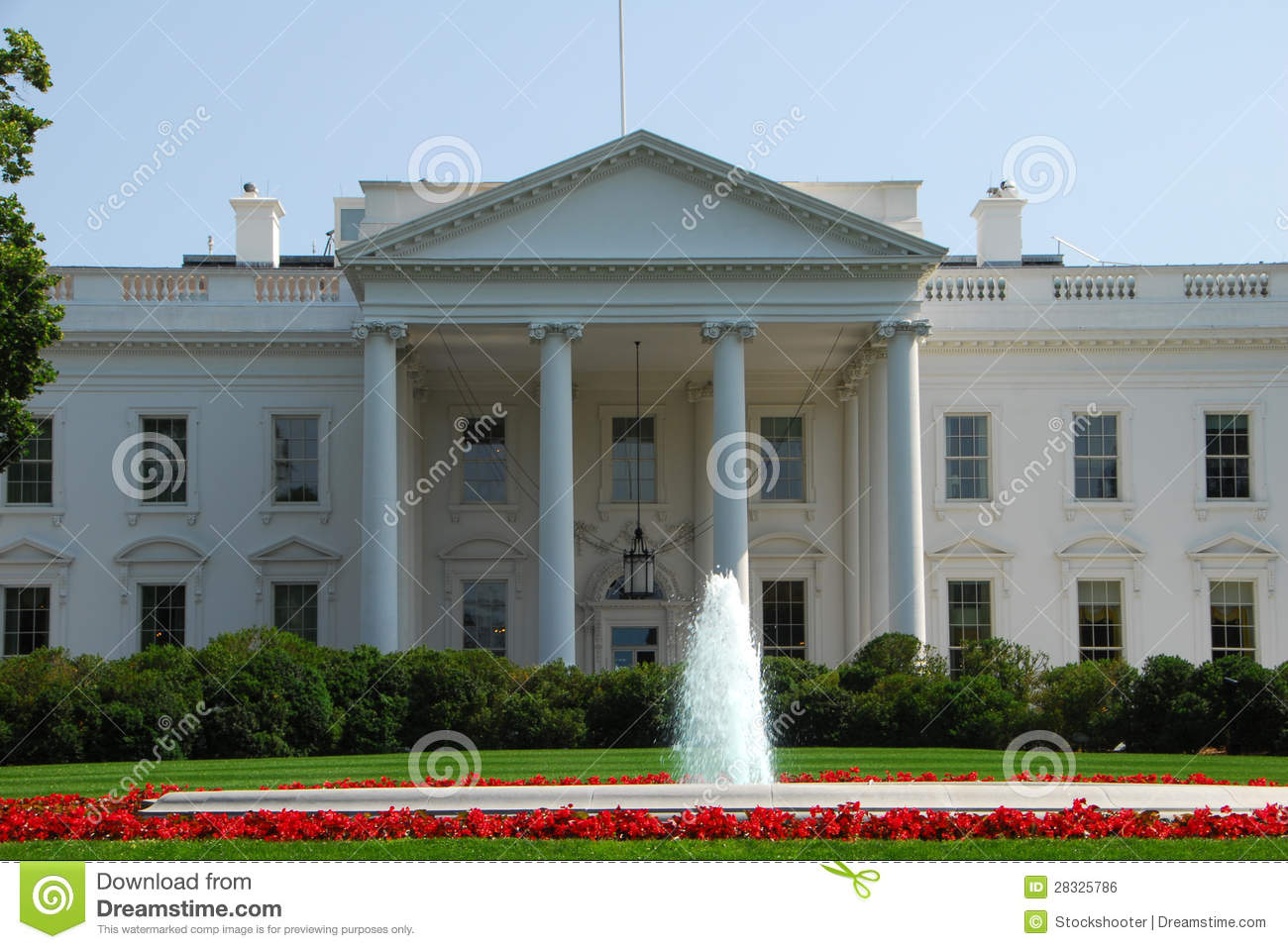White house washington dc royalty free stock image image for Building a house in washington state