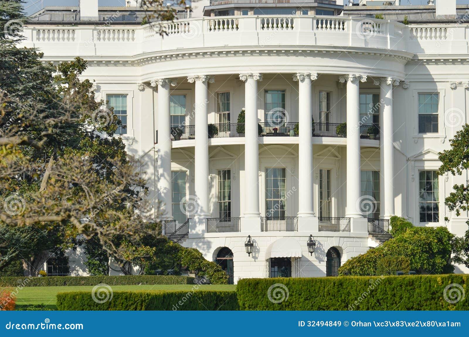 The white house washington dc united states stock image for Washington state approved house plans
