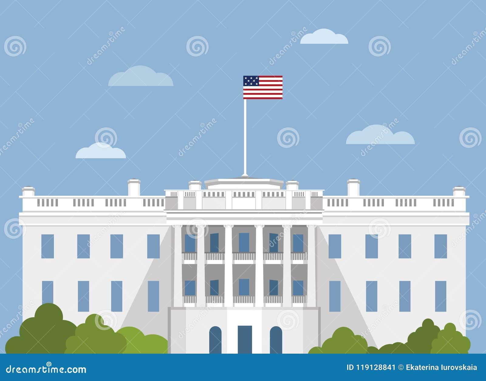 white house washington dc stock illustration illustration of rh dreamstime com