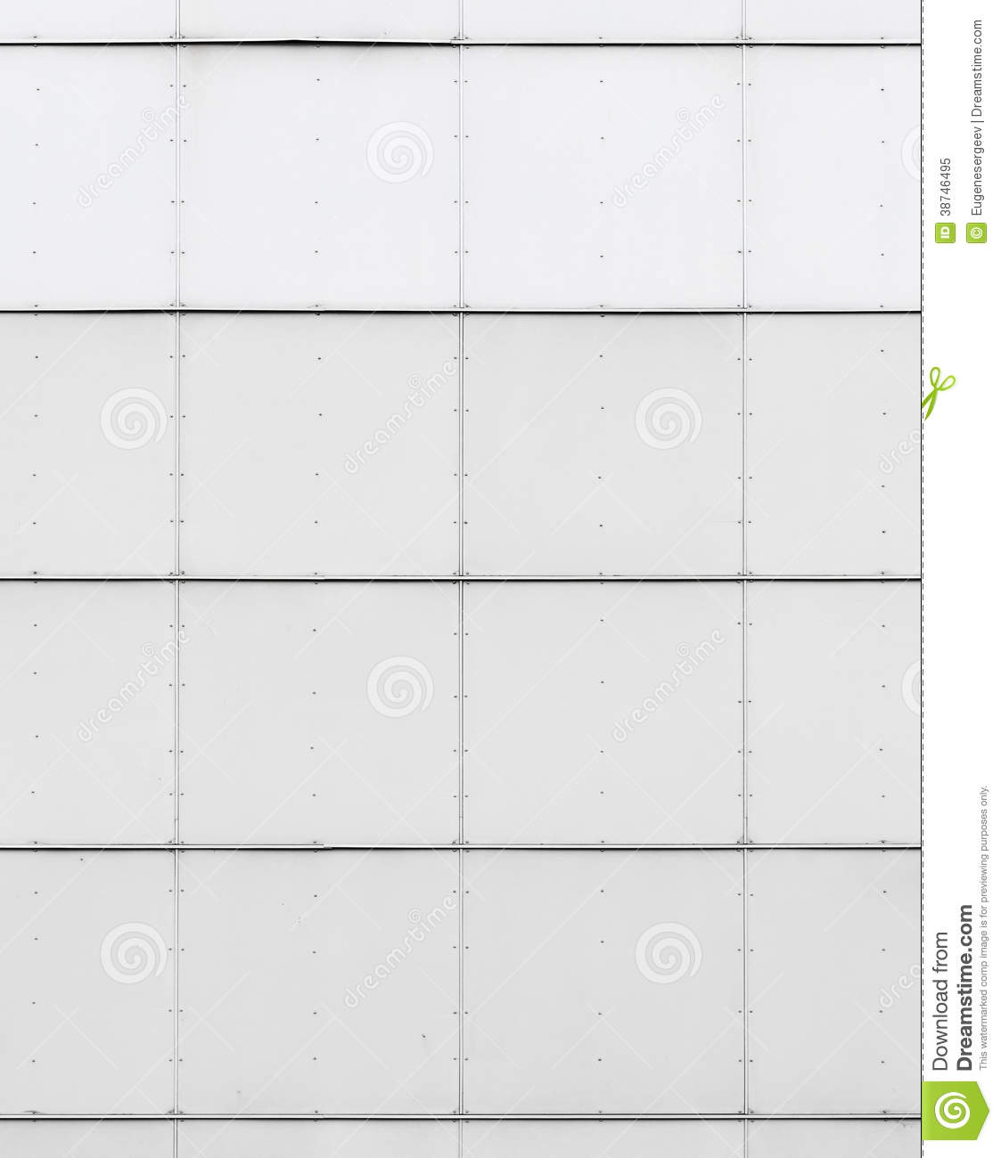 White industrial wall texture with metal tiling royalty free stock photo image 38746495 - Textuur tiling wit ...