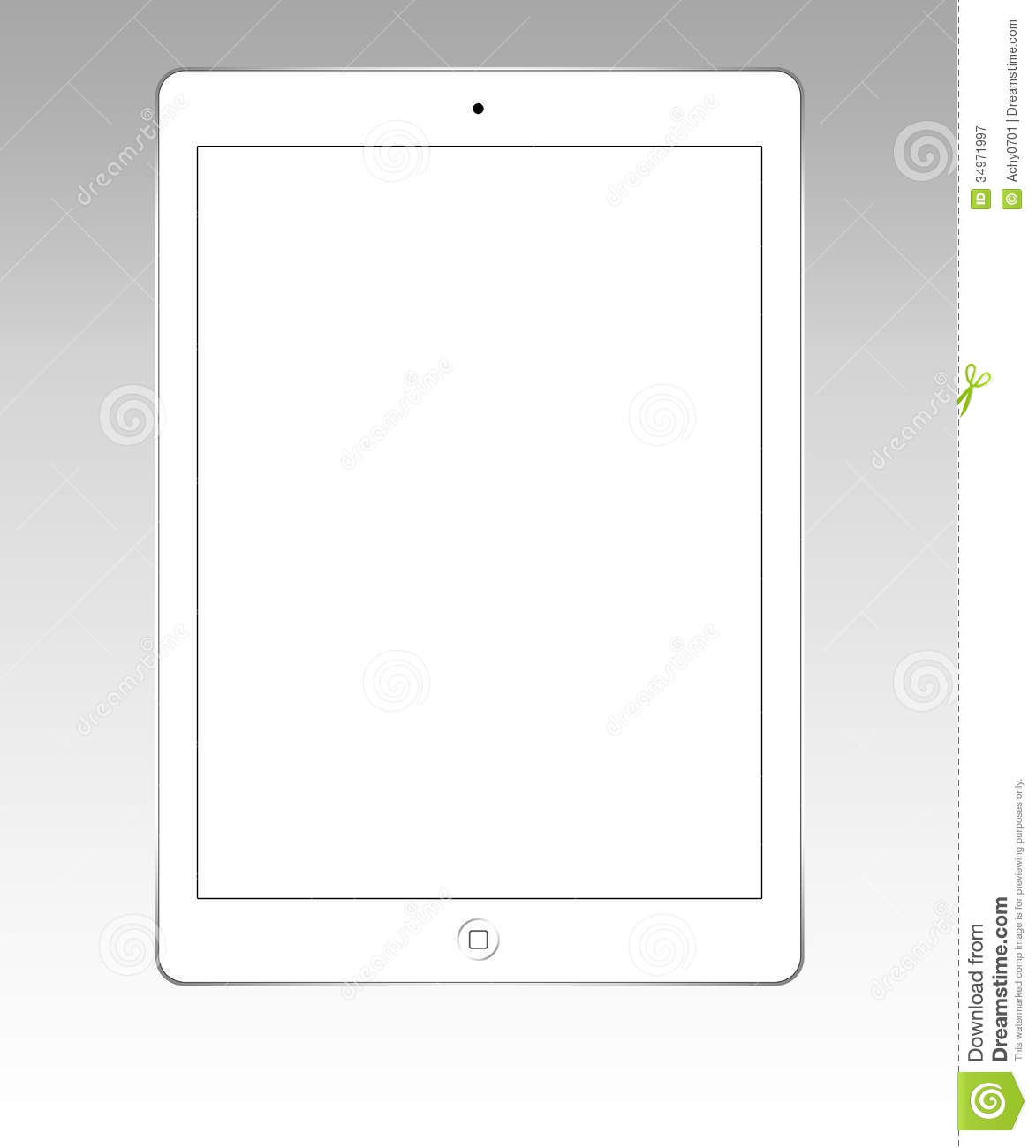 white ipad air editorial photography illustration of ipad 34971997