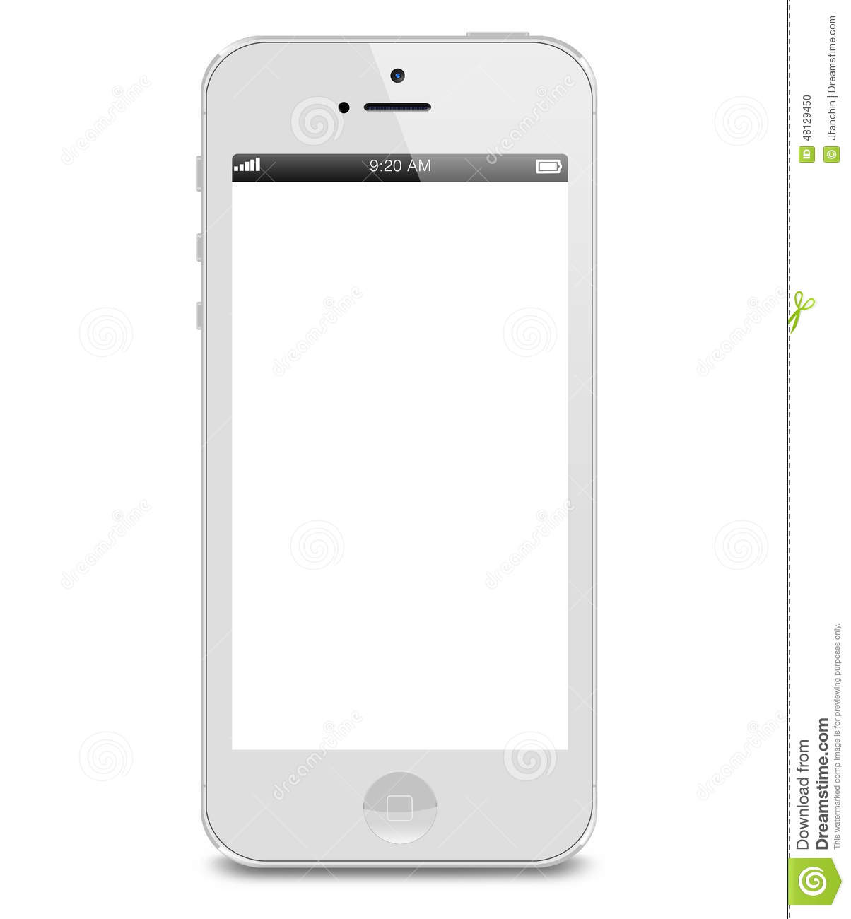 iphone white screen white iphone 5s editorial image image 48129450 12491
