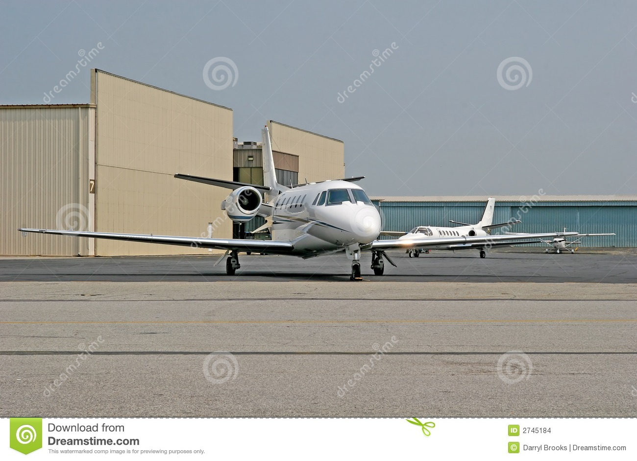 White Jets Stock Images  Image 2745184