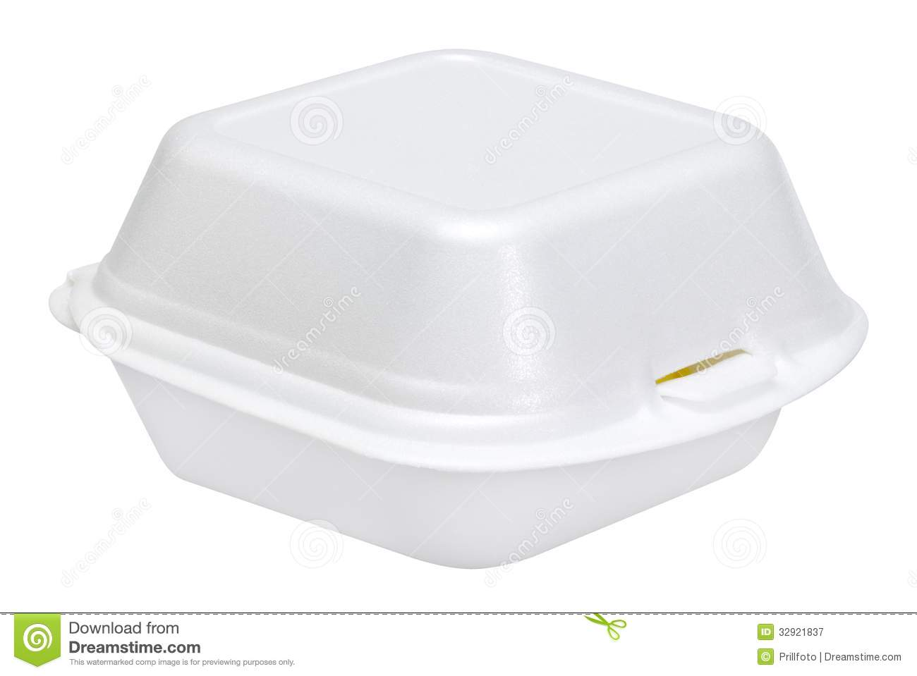white junk food box royalty free stock photography