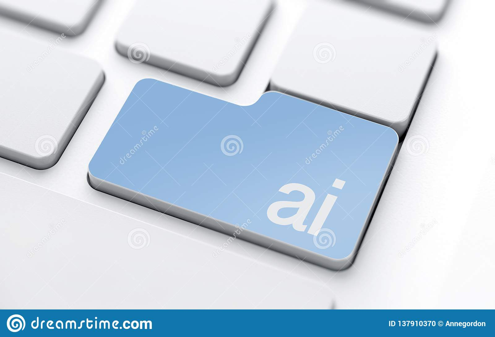 Artificial Intelligence Button