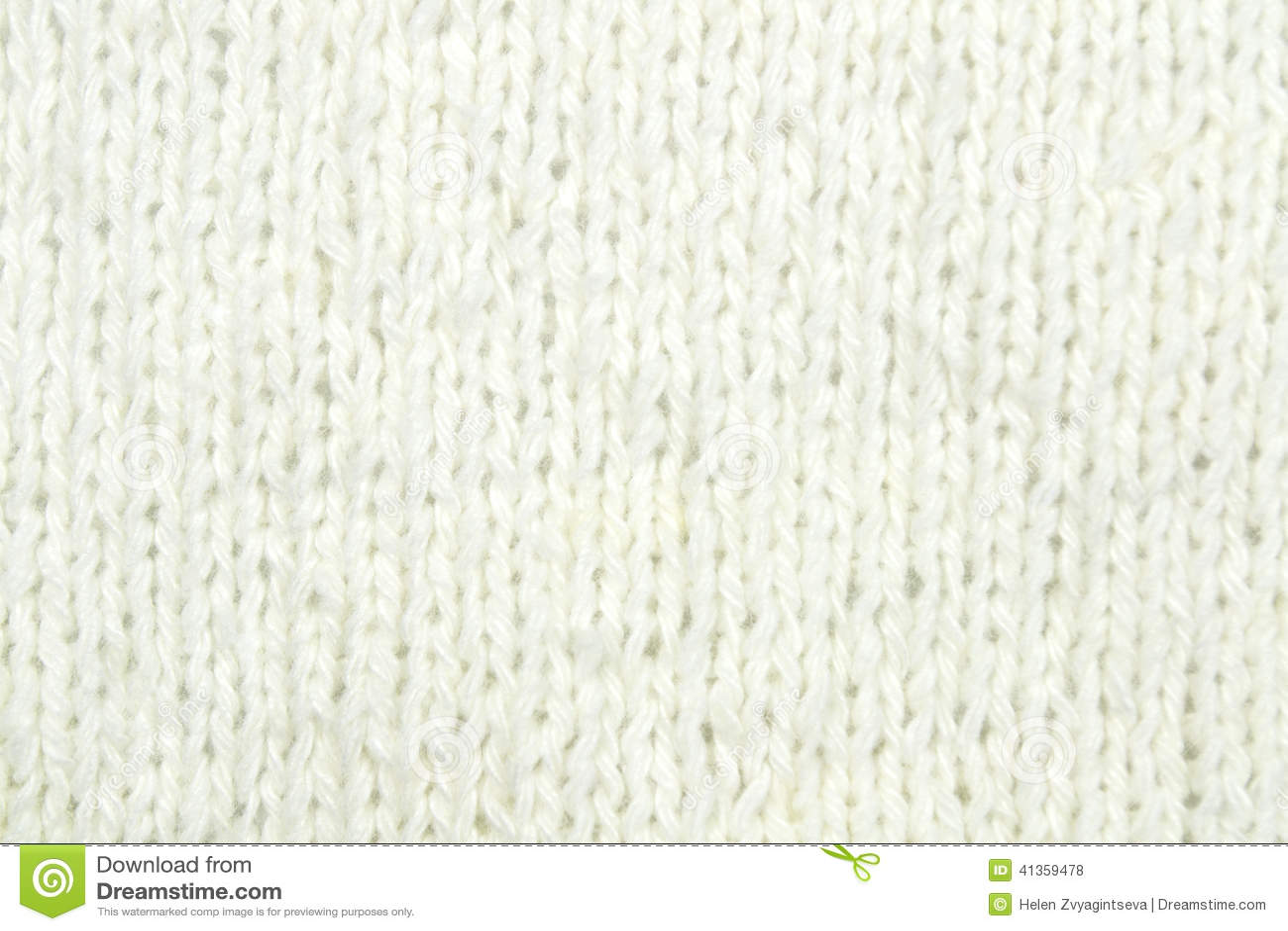 White Knitting Wool Texture Background Stock Photo - Image ...