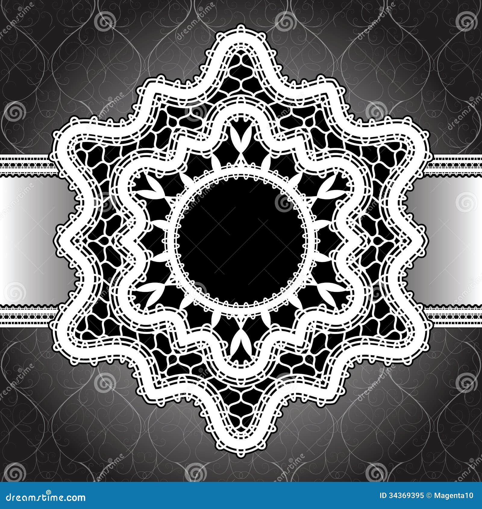 White Lace Background Royalty Free Stock Photo Image