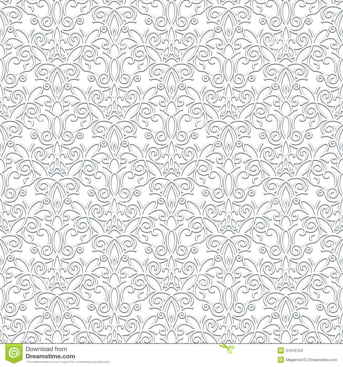 White Lace Pattern Stock Images - Image: 31515724