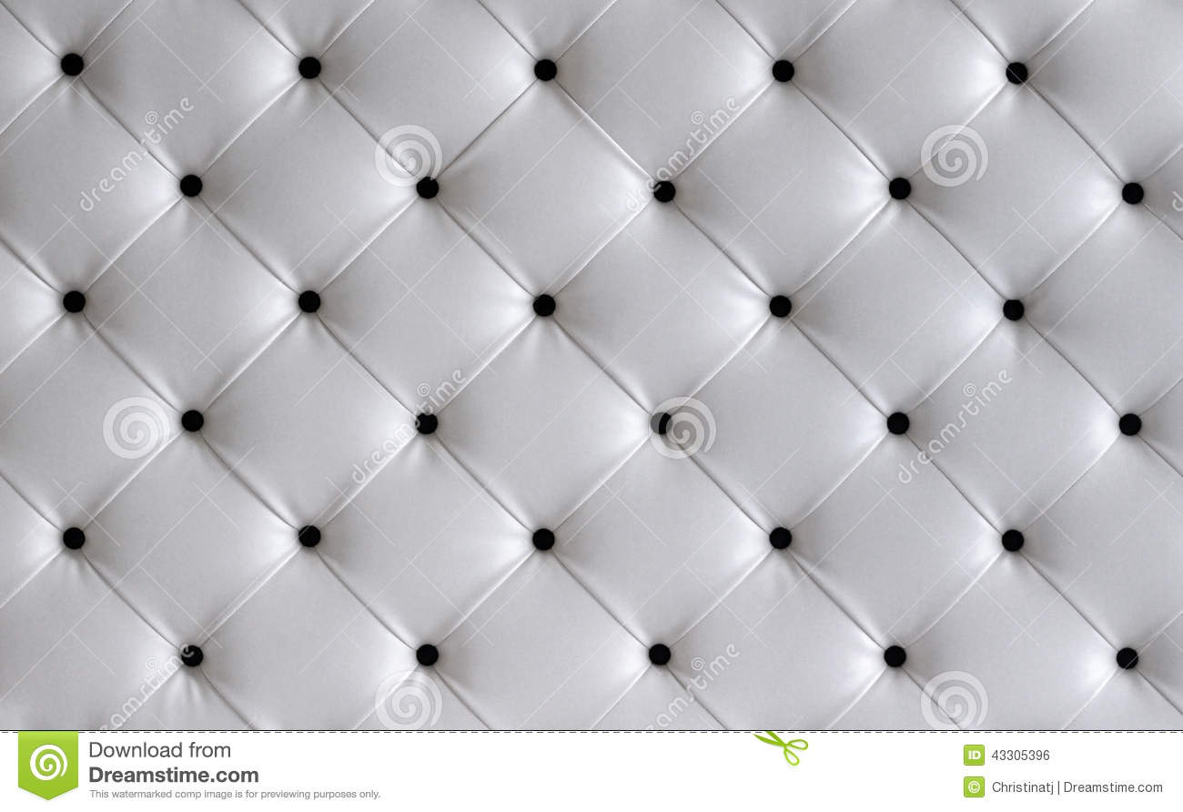 white leather button headboard background stock photo. Black Bedroom Furniture Sets. Home Design Ideas