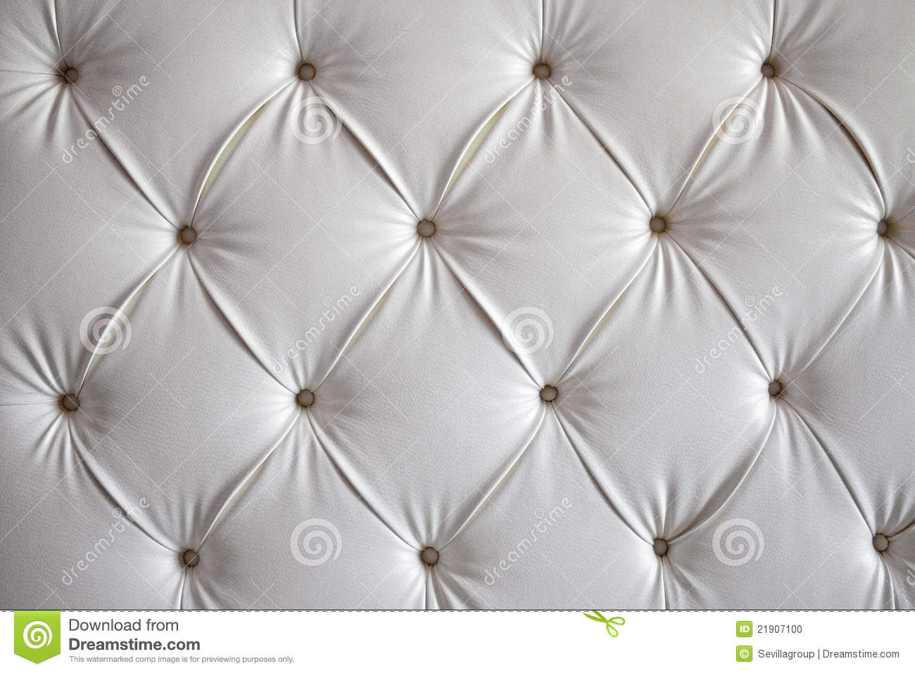 Leather cushion texture - White Leather Sofa Background Stock Photo
