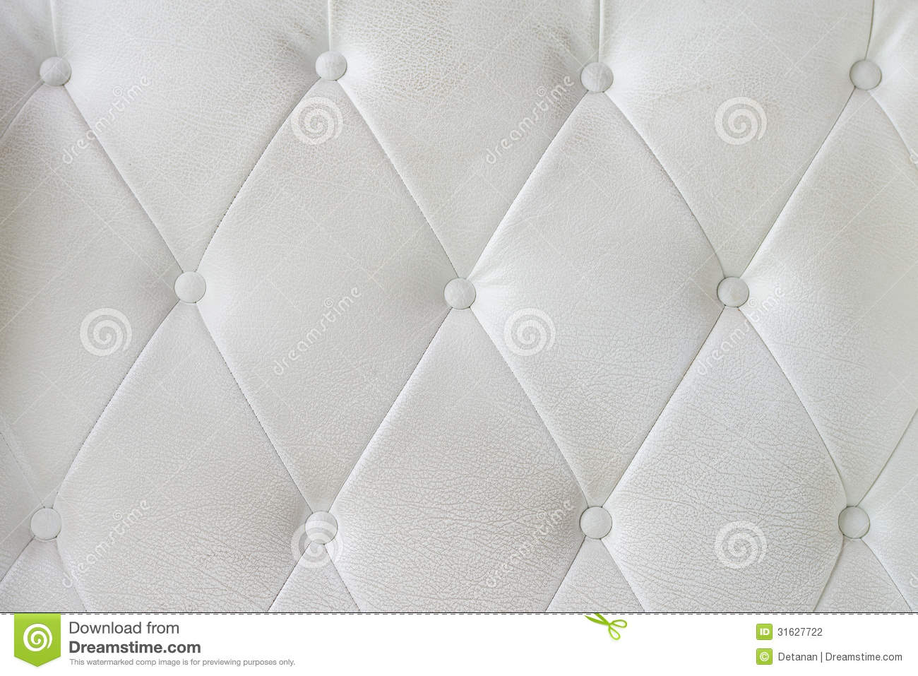 White Leather Sofa Texture Stock Photo Image Of Chester