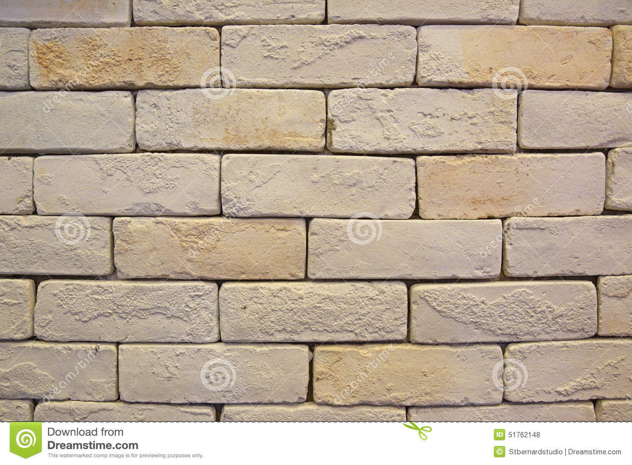 white or light color bricks as plain background stock