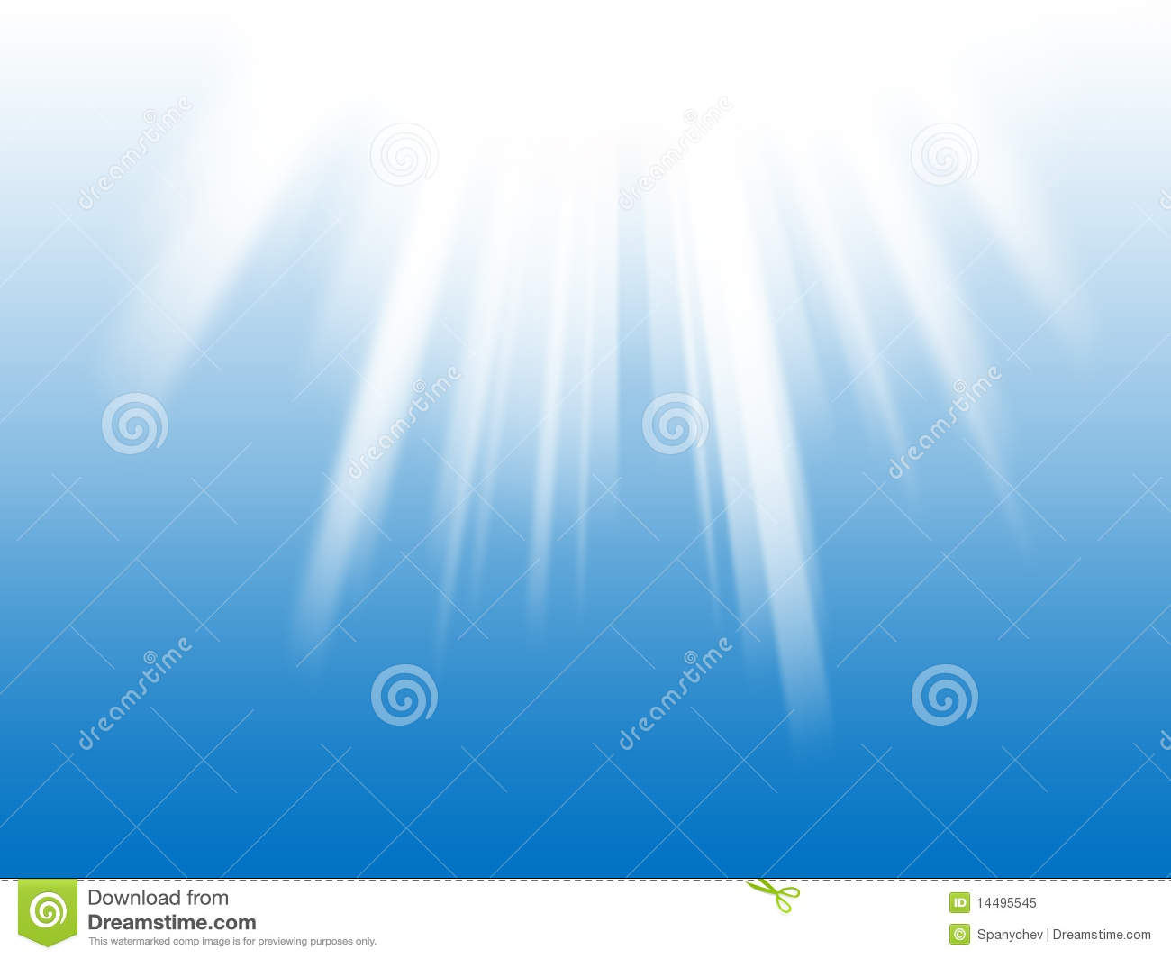 White Light Rays The Blue Background Royalty Free Stock ...