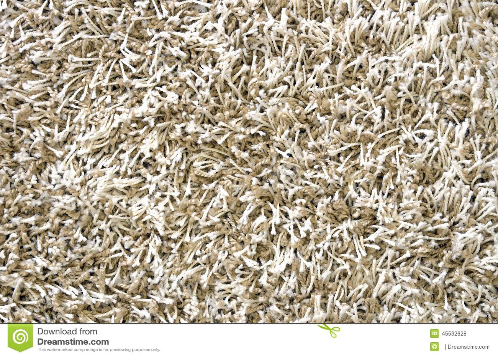 White Long Hair Carpet Texture Stock Photo Image 45532628