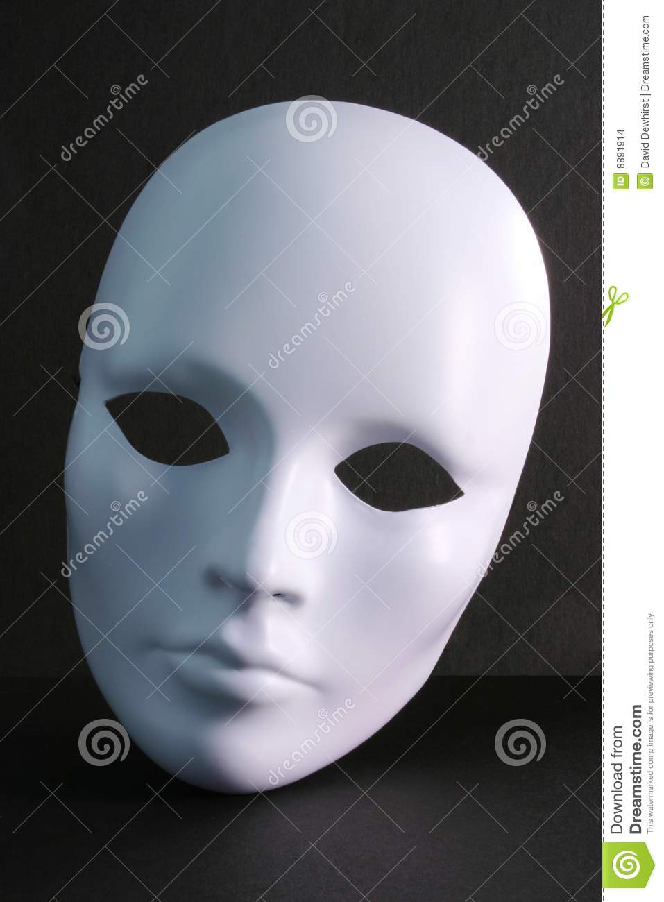 More similar stock images of ` White Mask on Dark Background `