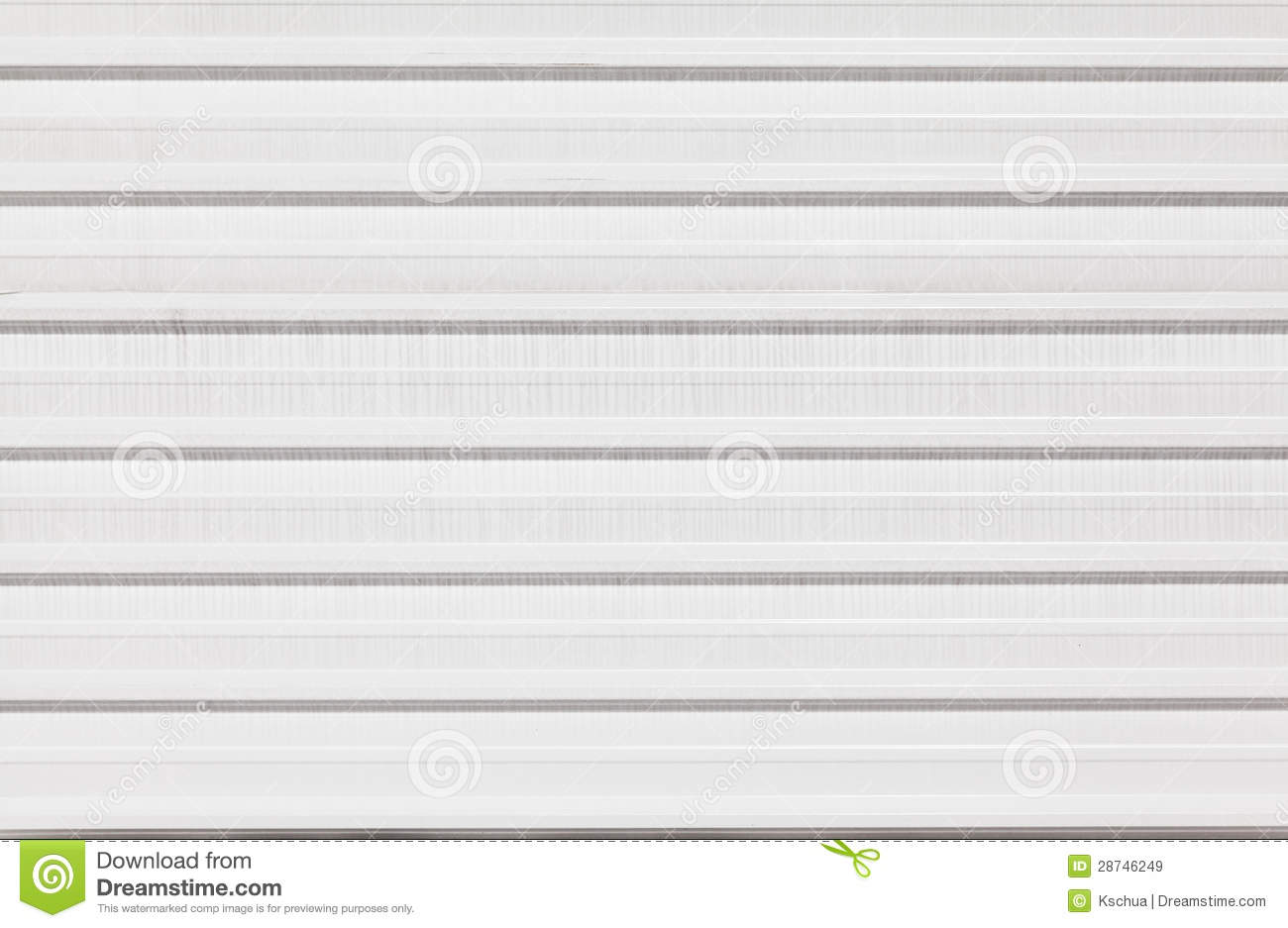 White Metal Fence Background Stock Image Image 28746249