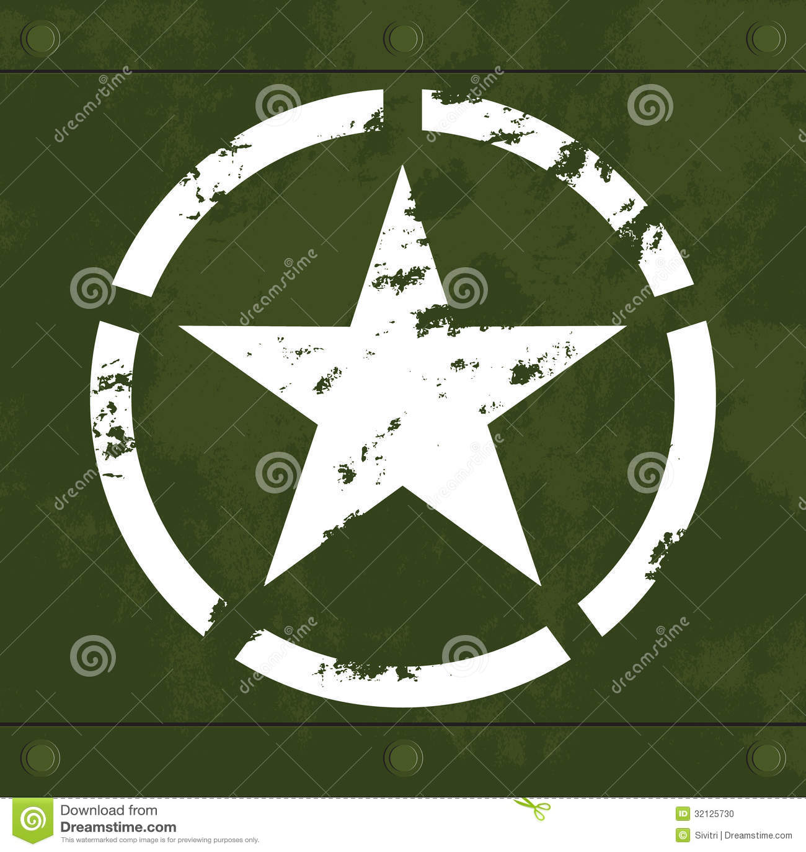 White military star on green metal stock vector illustration of white military star on green metal biocorpaavc