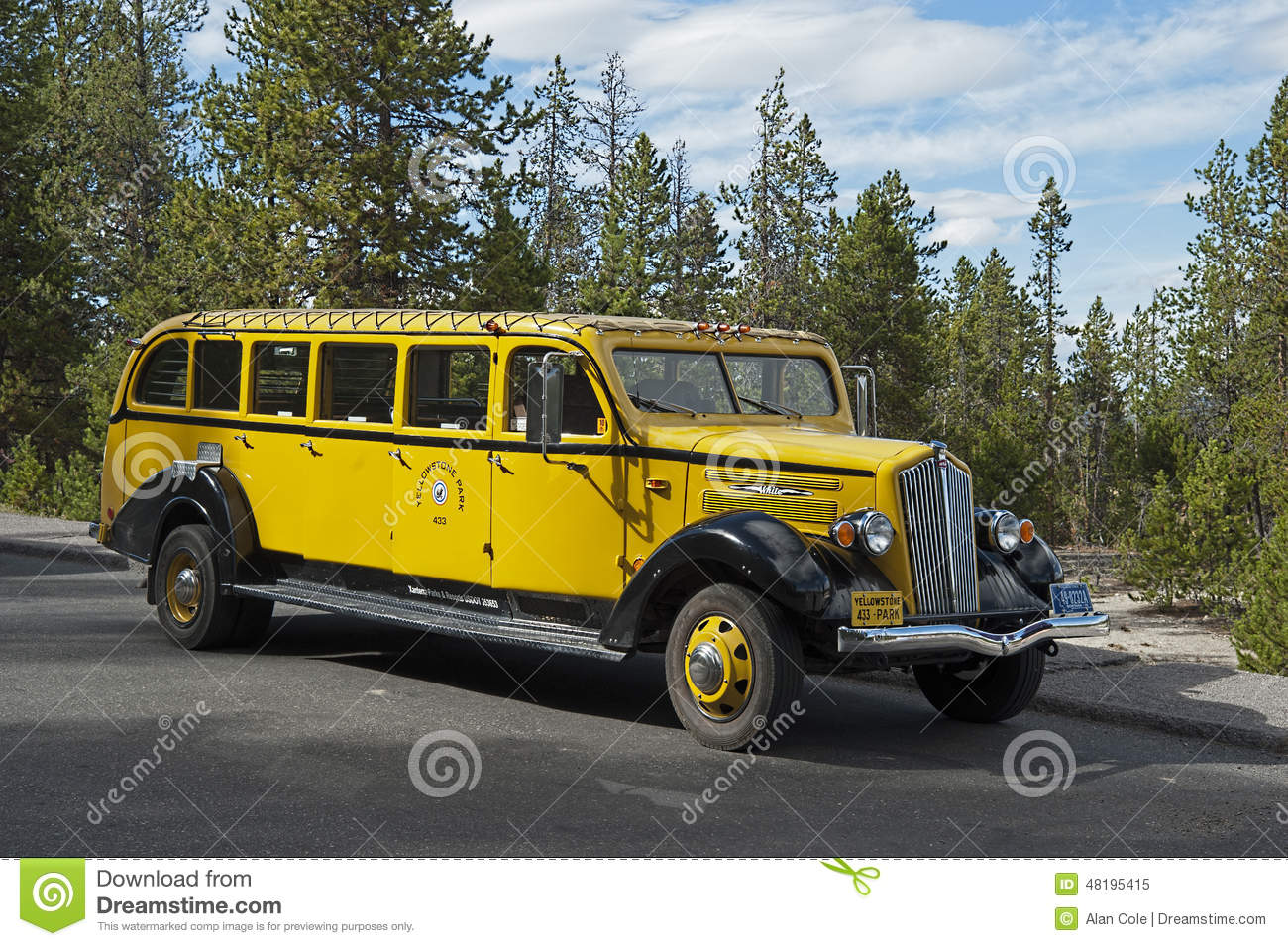 Bus Tours In Yellowstone Park