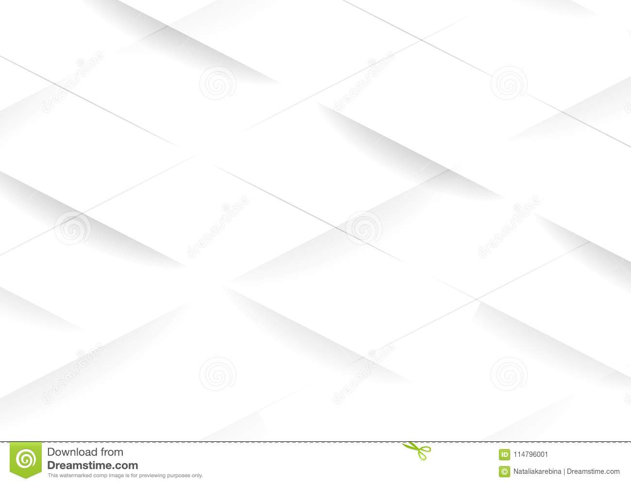 white modern geometric background  texture for cover