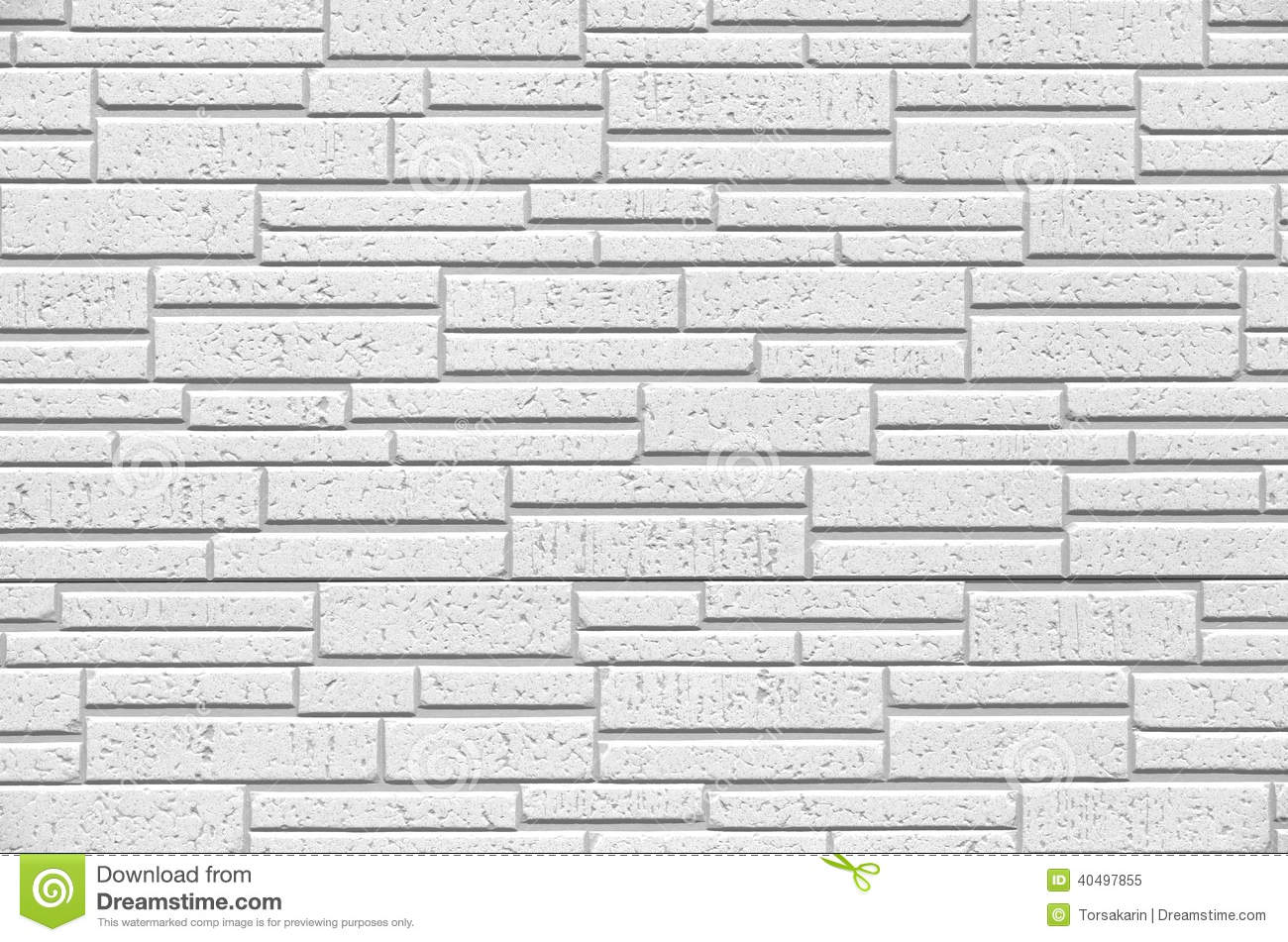 White Modern Tile Wall Stock Photo Image 40497855