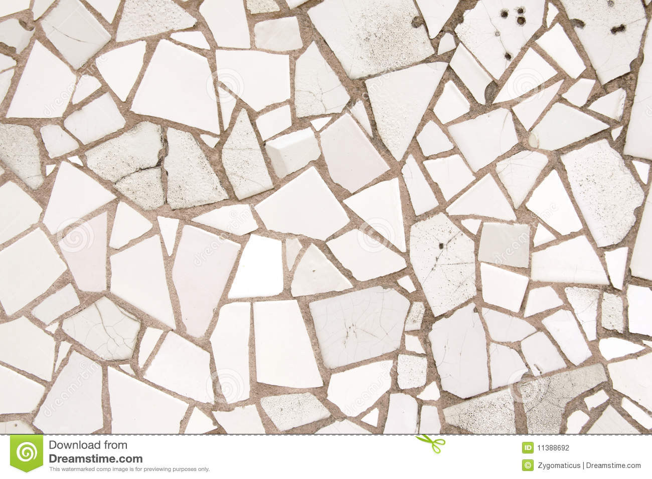 White mosaic tiles. White mosaic tiles stock photo  Image of barcelona  home   11388692