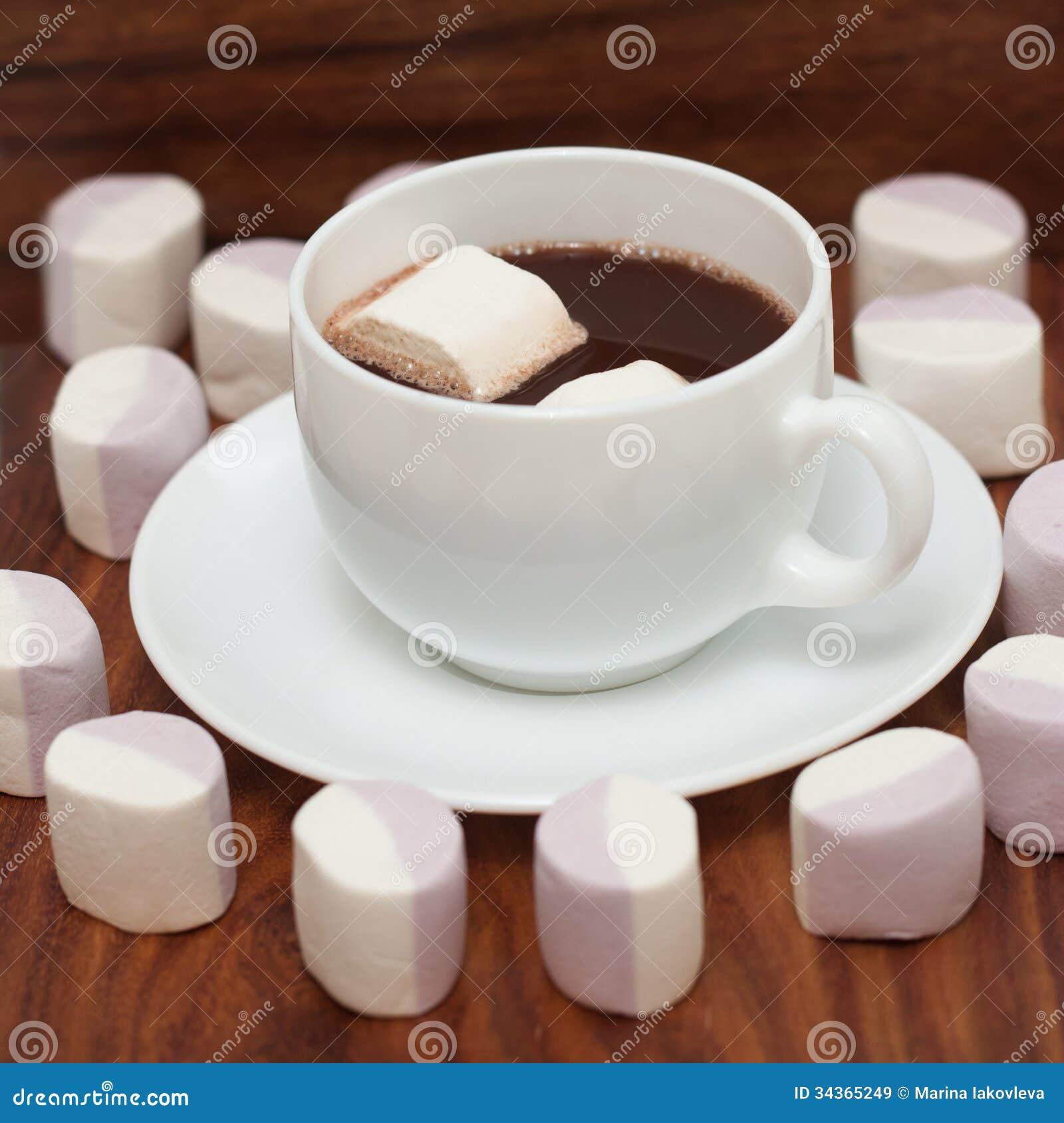 Chocolate Marshmellow Background Free