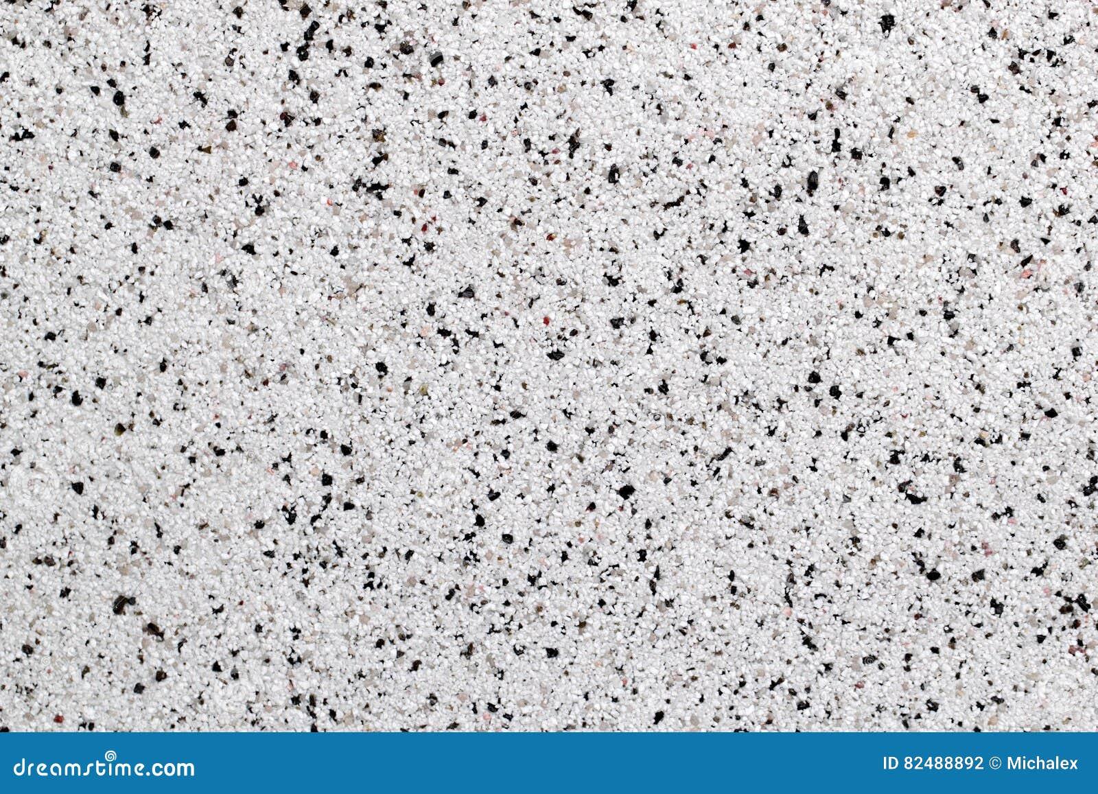 White Natural Marble Chip Plaster