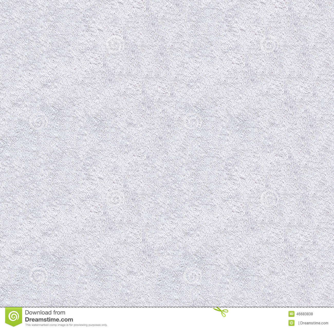 White Natural Plush Textured Fabric Macro Background