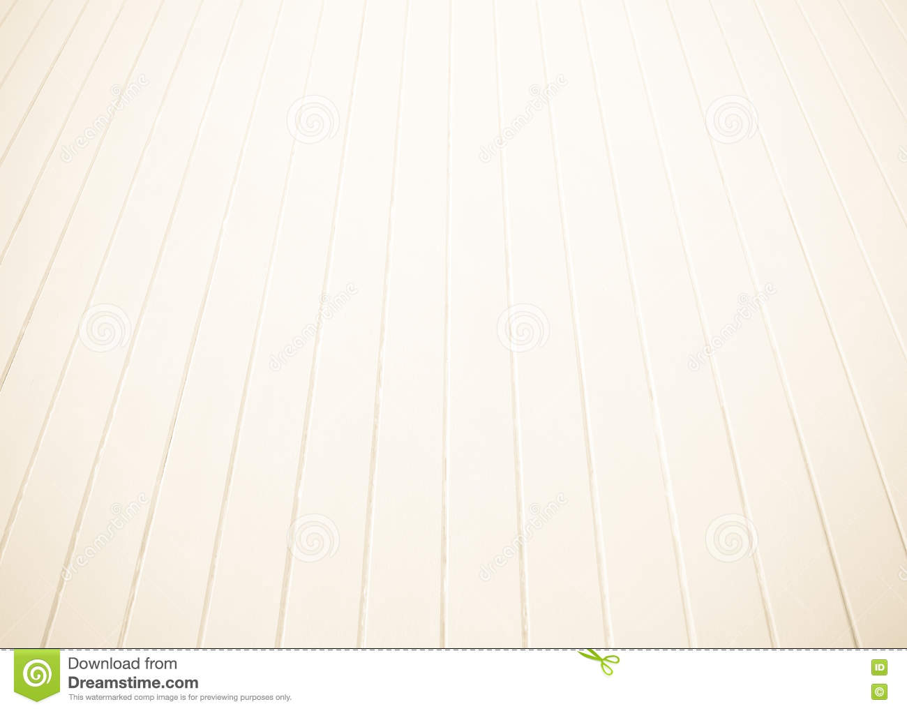White Old Wood Floor With Blurred Brown Sepia Tone