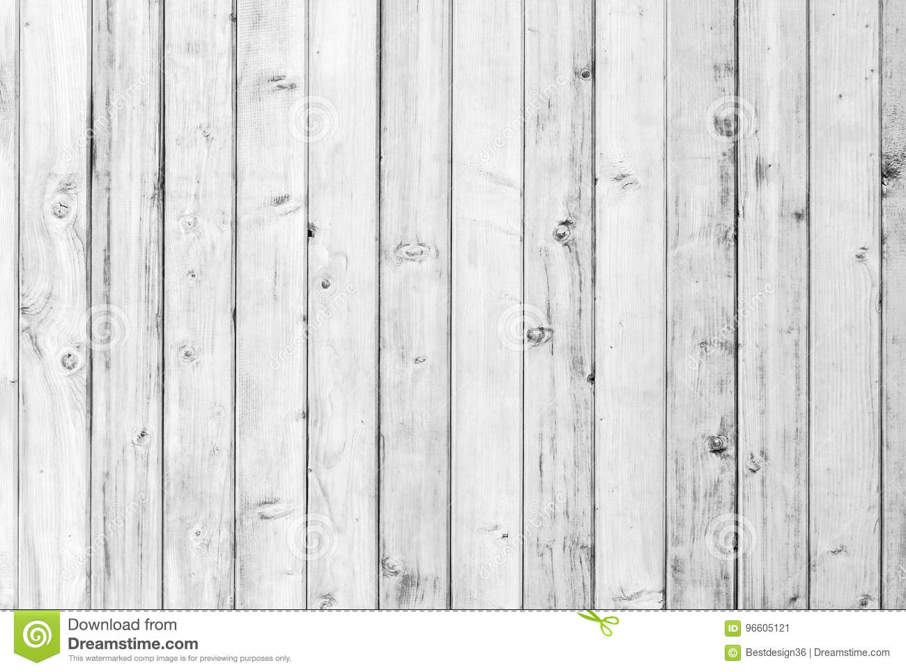 White old wood or wooden vintage plank floor or wall surface background decorative pattern. A minimal tabletop cover