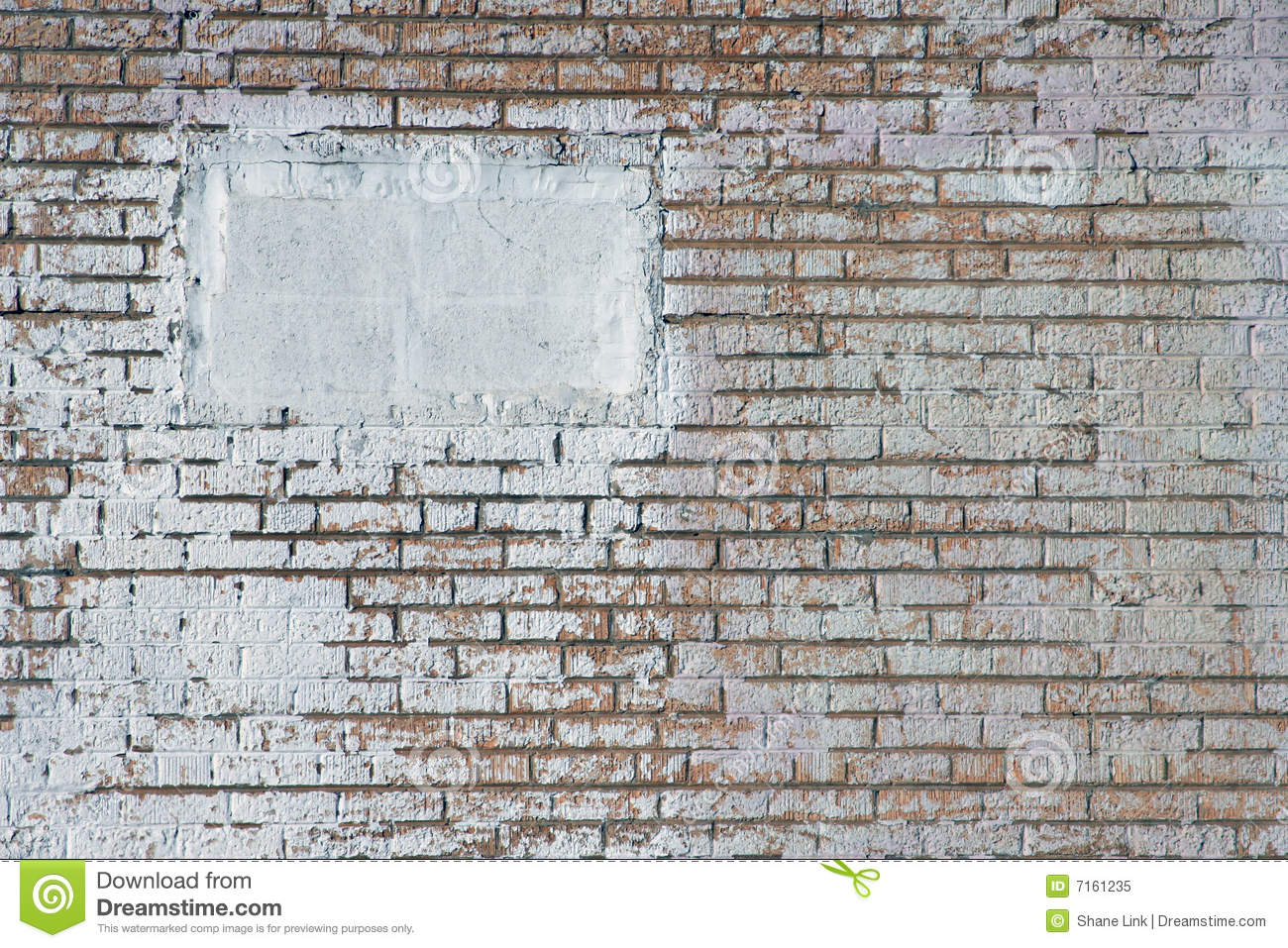 White Painted Brick Wall Royalty Free Stock Photo Image