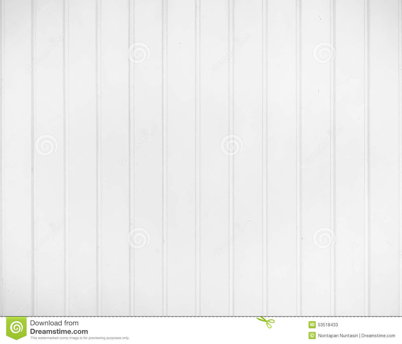 White Panel Wall Stock Photo Image 53518433