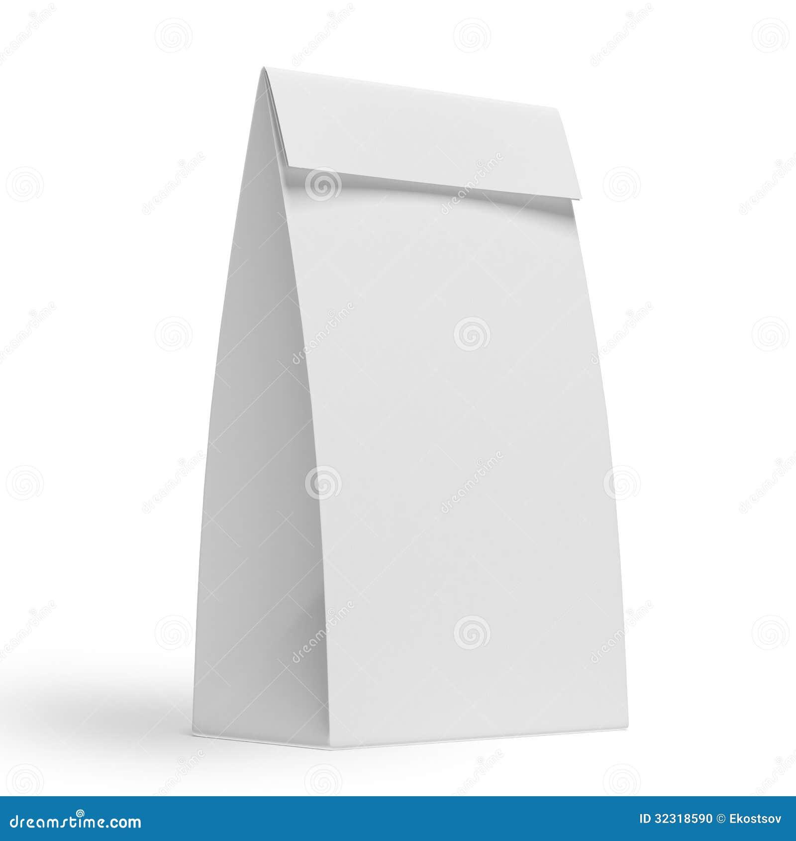 White Paper Bag Png White Paper Bag