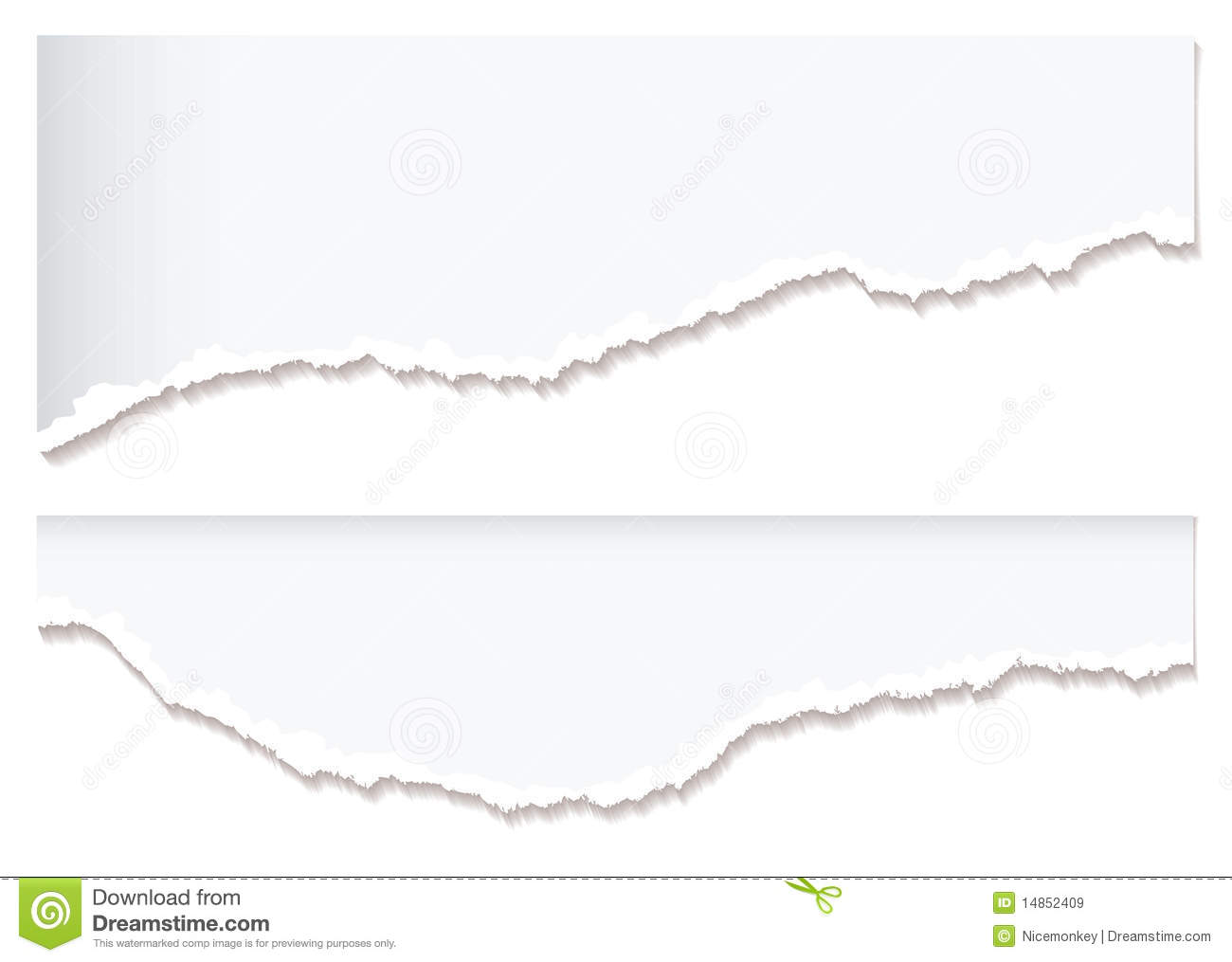 White Paper Rip Edge Royalty Free Stock Images - Image: 14852409: www.dreamstime.com/royalty-free-stock-images-white-paper-rip-edge...