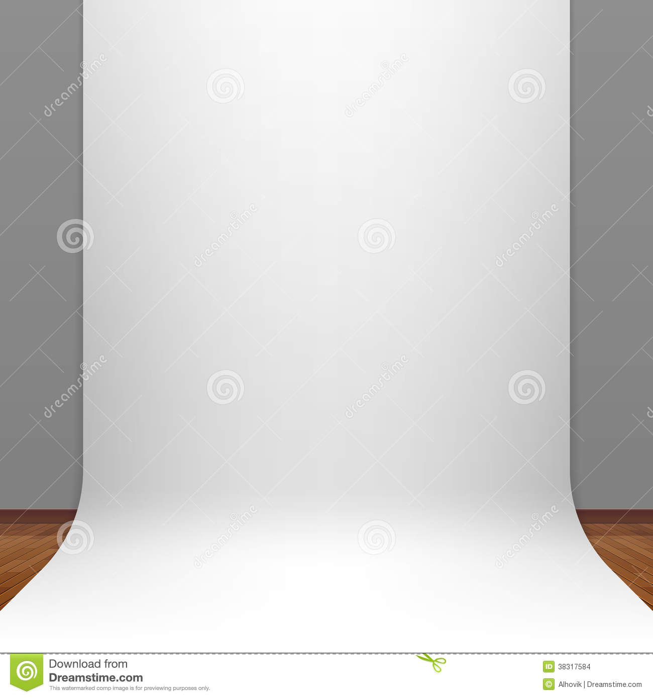 white paper studio backdrop illustration 38317584 megapixl