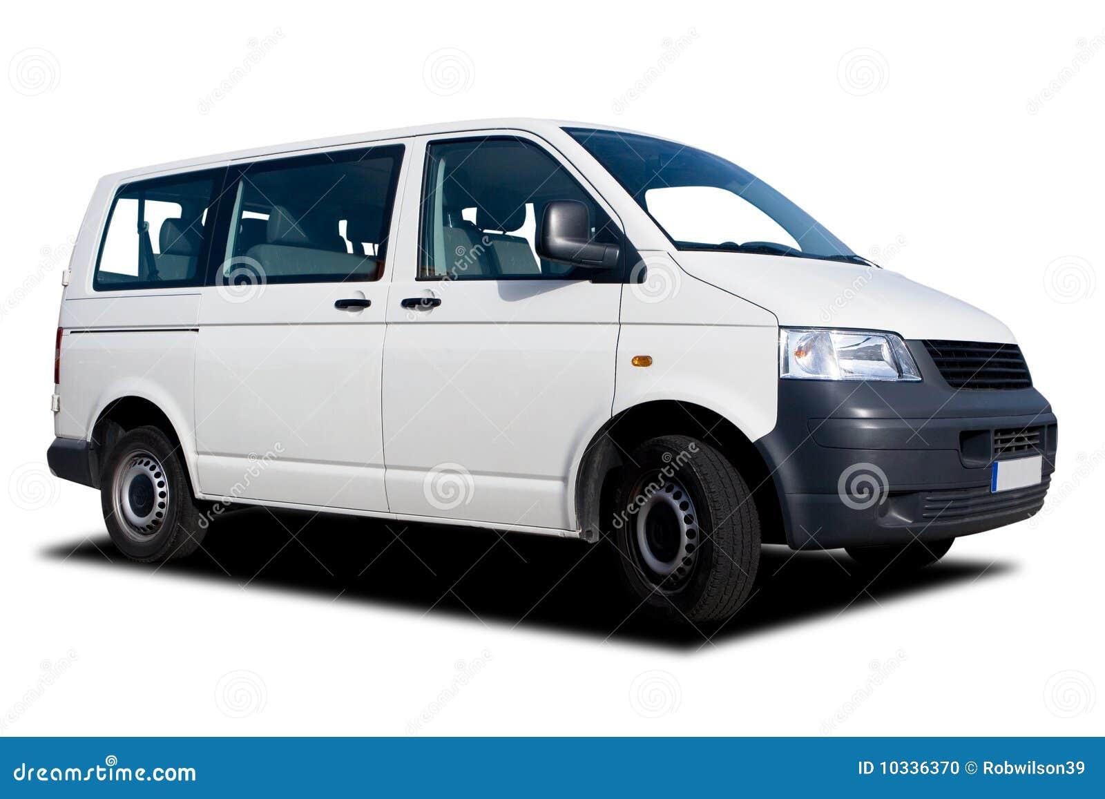 White Passenger Van White Passenger Van