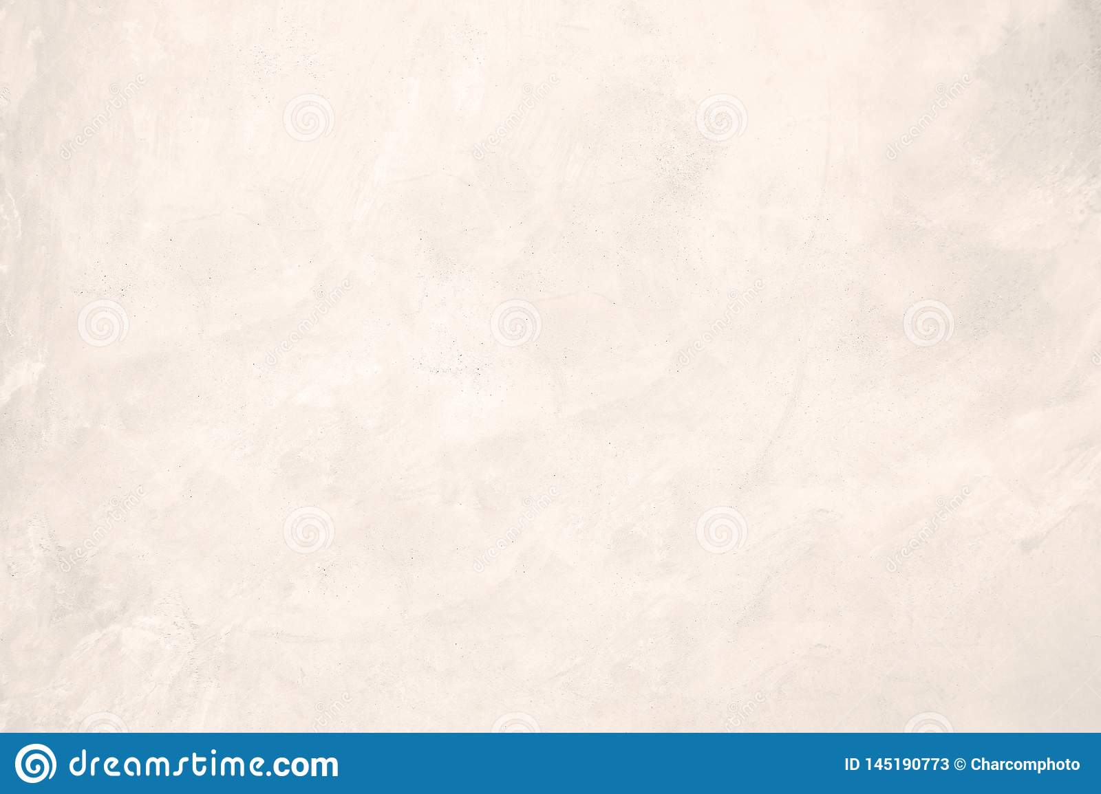 White pastel rough crack cement texture stone concrete,rock plastered stucco wall; painted flat fade background gray solid floor