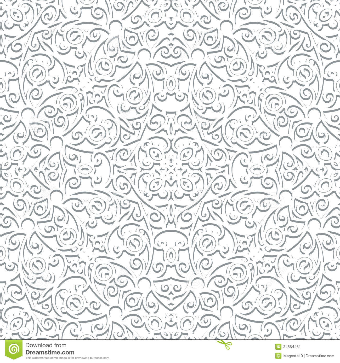 White Pattern Stock Image - Image: 34564461