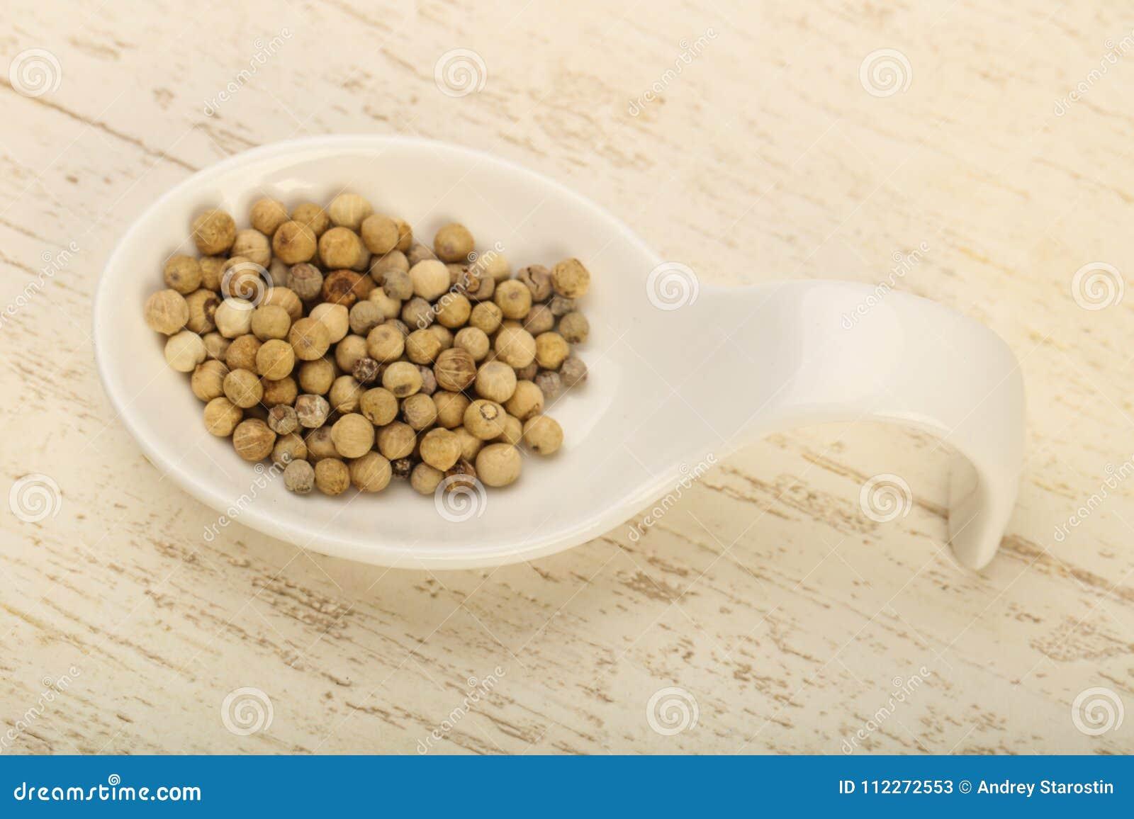White pepper corn