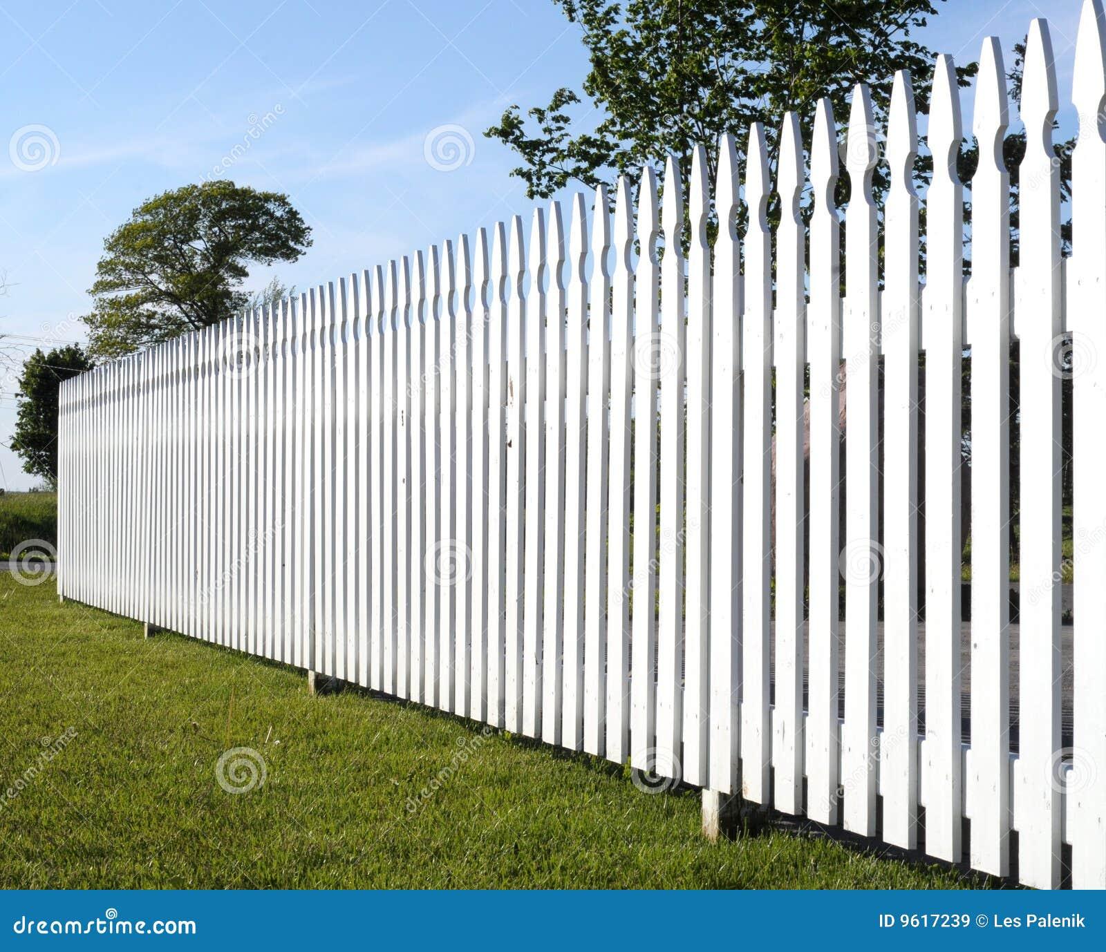 white picket fence royalty free stock images image 9617239