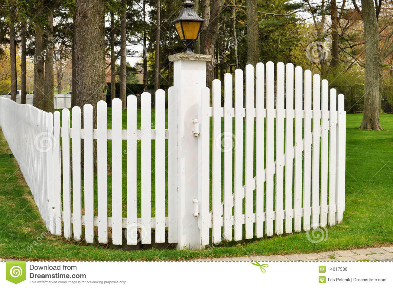 wood picket fence gate. White Picket Fence With Gate Wood P