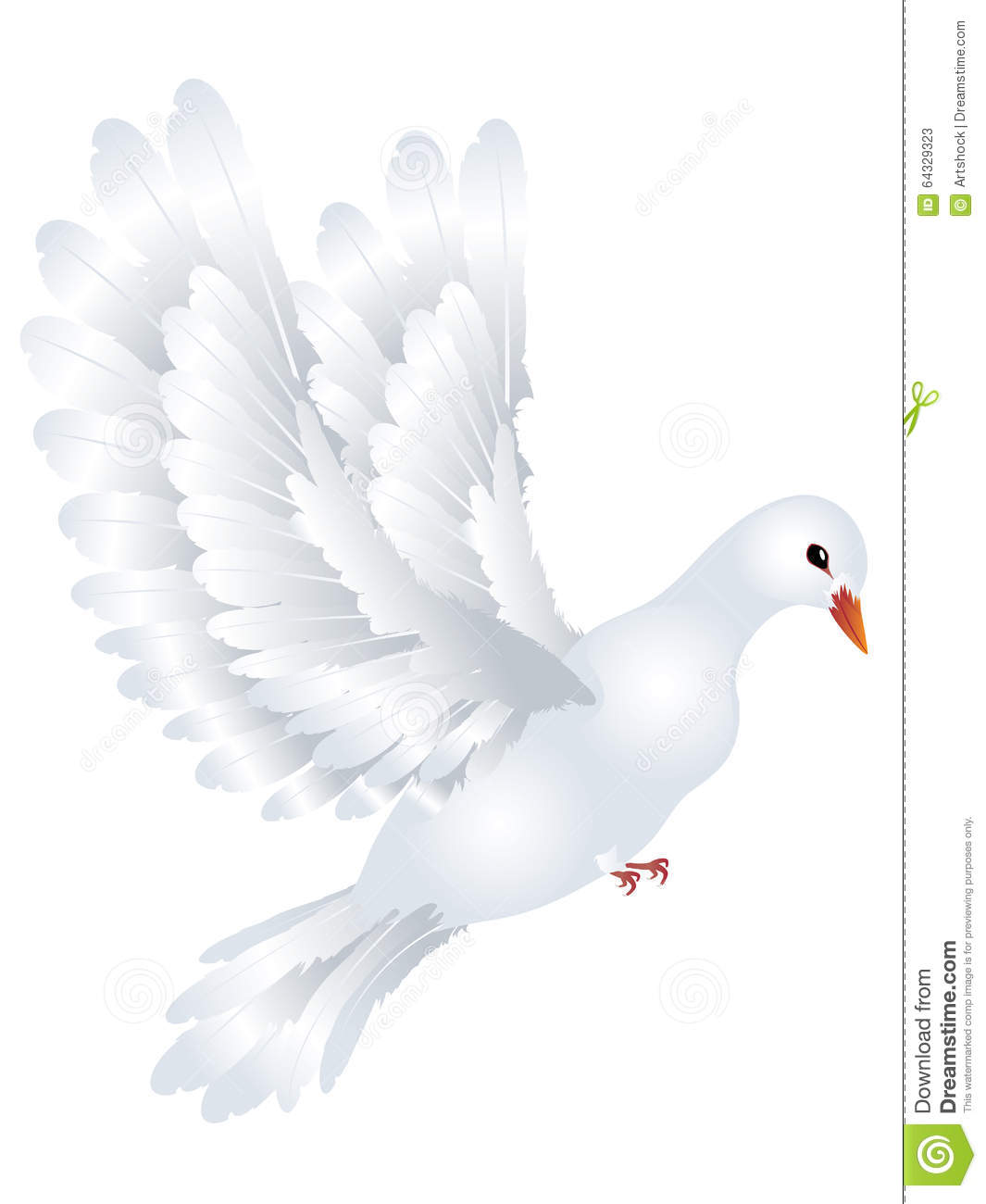 Pigeon illustration - photo#44