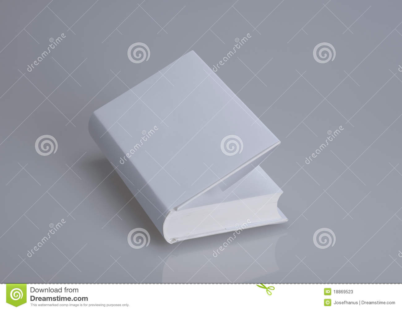 White, Plain Book For Design Layout Stock Photos - Image ...