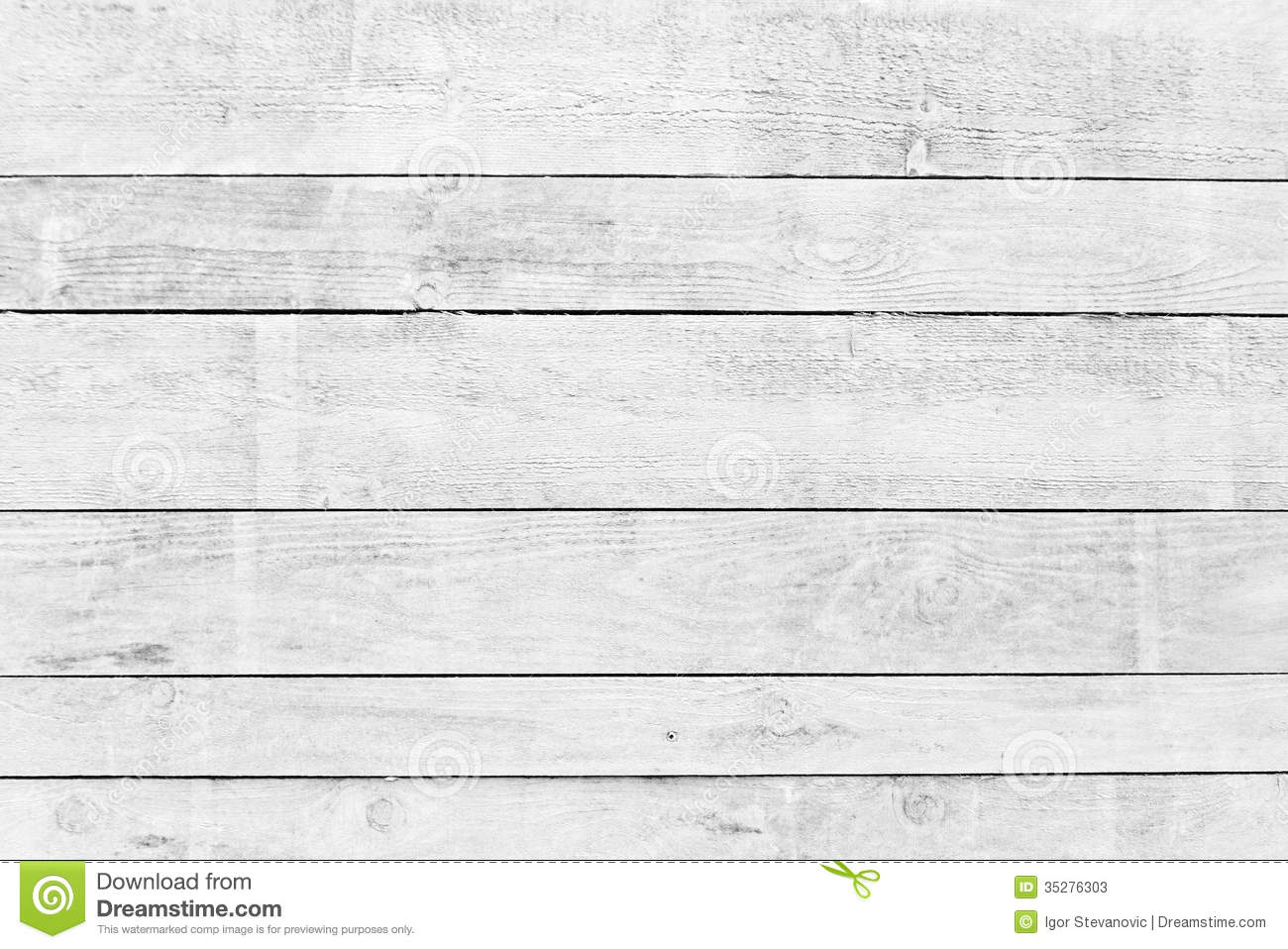 White wood planks texture with natural patterns background.
